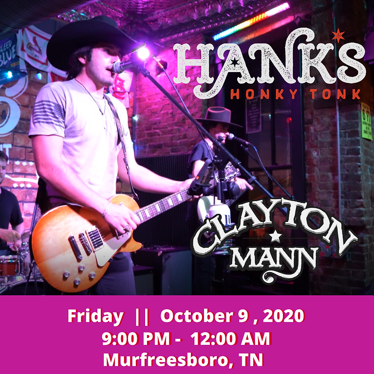 CLAYTON MANN at Hanks In The Boro