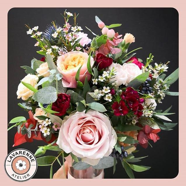 Bouquet-de-mariée_automne_Rose_bordeaux-