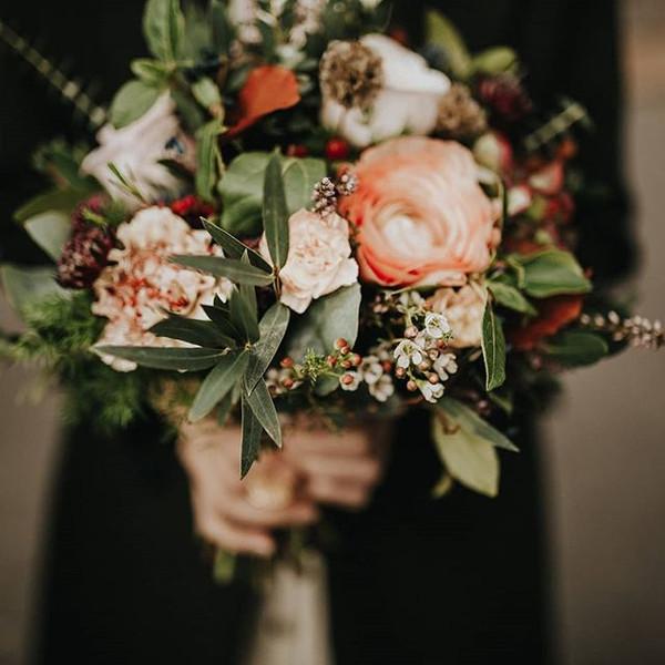 Bouquet de mariée automne vintage Atelie