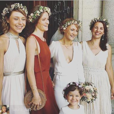Couronne de fleurs bohême, Lyon