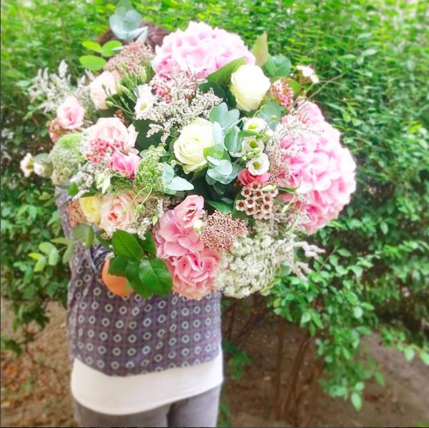 Bouquet hortensia Lyon