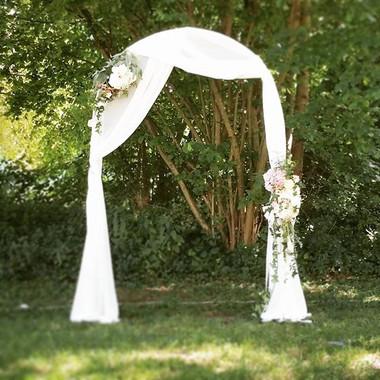 Arche florale Atelier Lavarenne