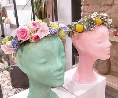 Couronne de fleurs Lyon