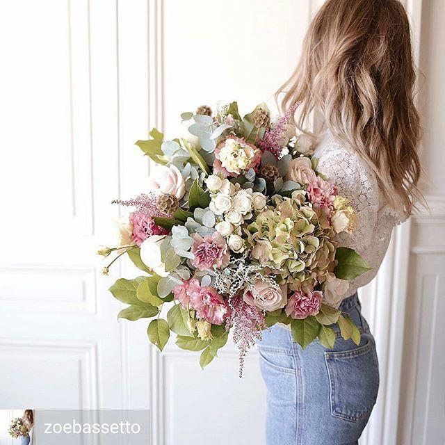 Bouquet pastel bohème Lyon
