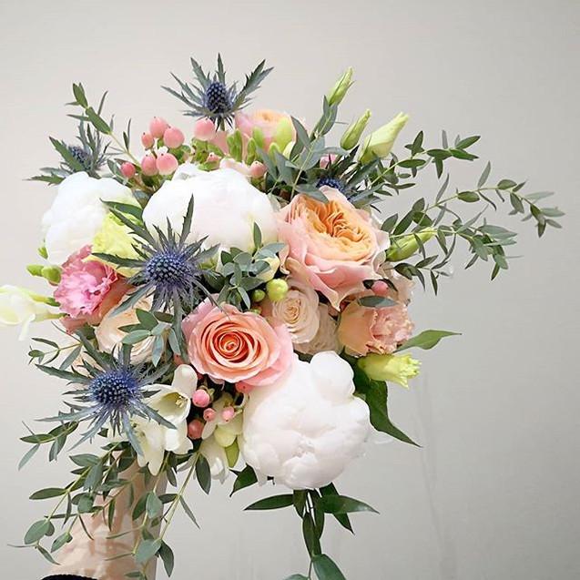 Bouquet de mariée pivoine bohème Atelier