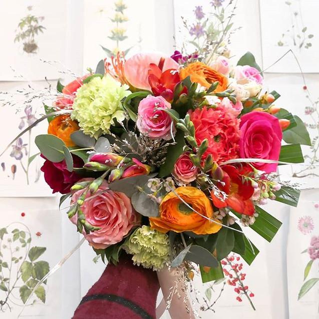 Bouquet de mariée tropical La Réunion_At