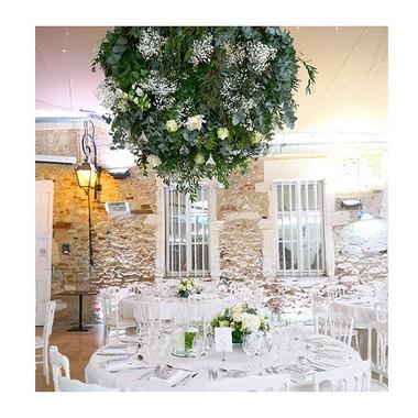 Lustre végétal Atelier Lavarenne Château