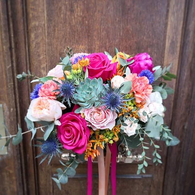 Et un deuxième #bouquetdemariée aujourd'