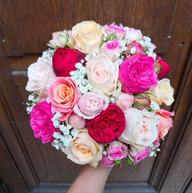 5eme et dernier bouquet de mariée du WE,