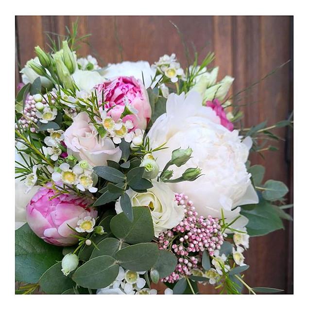 Bouquet de mariée ivoire rose Atelier La