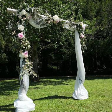 Arche florale bouleau 2 Atelier Lavarenn