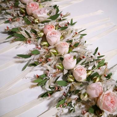 Bracelet fleuris fleurs fraiches fleurs séchées