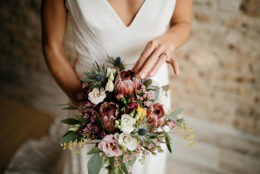 Bouquet de mariée vintage Atelier Lavare