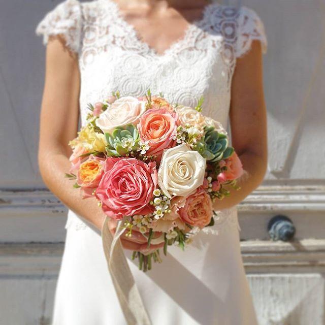 Bouquet_de_mariée_Rose_Peche_Atelier_Lav