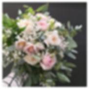 Bouquet de mariée pastel rose Atelier La