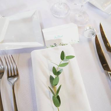 Eucalyptus parvifolia décor de serviette