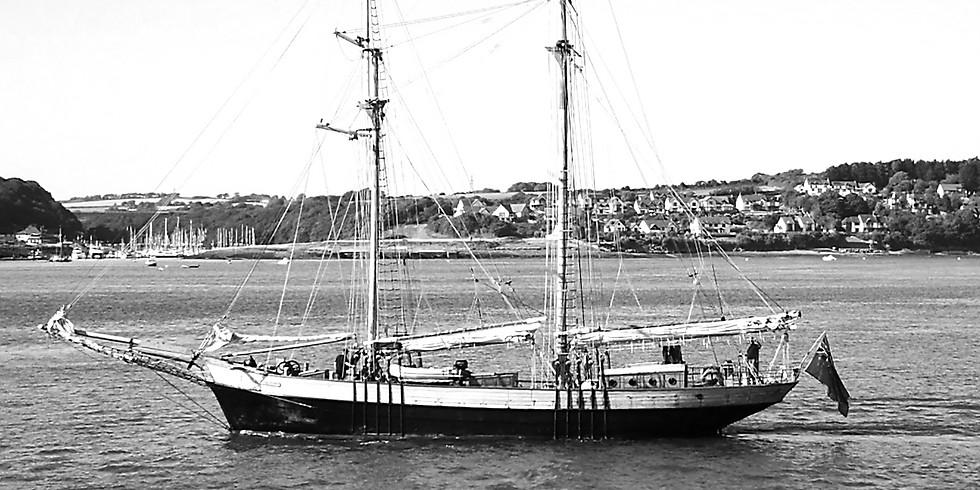 Sail Training on Johanna Lucretia or other tall training vessels