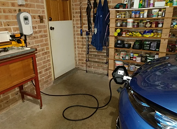 Renault Zoe and Zappi electric car charger