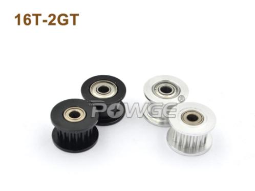 Powge 16 натяжной шкив с Ø=3 мм,  для ГРМ 2GT 6 мм ремня