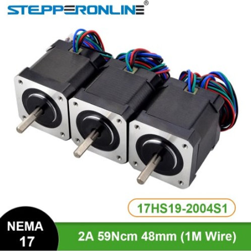Шаговый двигатель STEPPERONLINE Nema 17HS19-2004S1