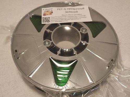 PET-G Прозрачный Зеленый 300м