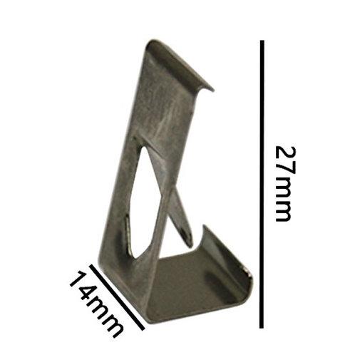 Зажимы стекла для нагревательного стола (Тип №2)