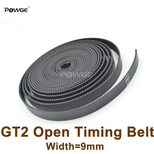 POWGE Ремень ГРМ 9 мм 2GT (резина с сердечником из стекловолокна)