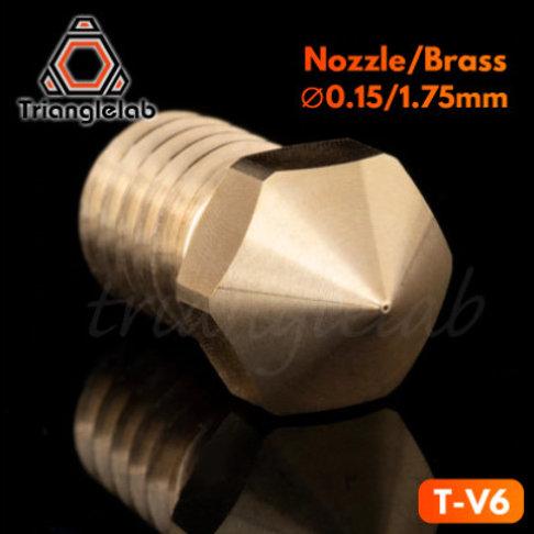 Сопло латунное Trianglelab E3D T-V6