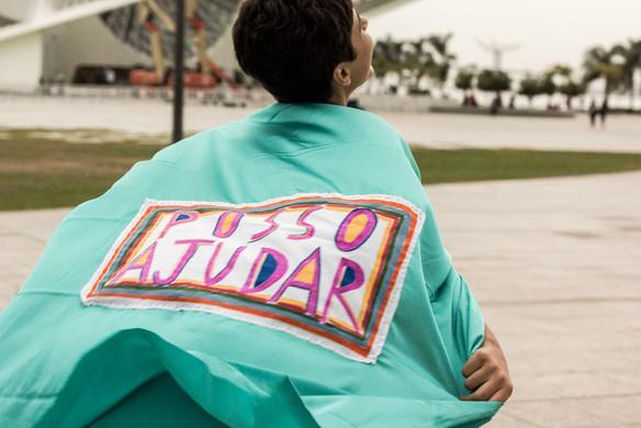 super heroína POSSO AJUDAR -- Anna Clara Carvalho