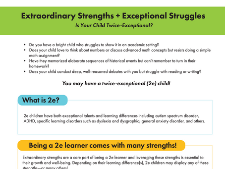Is Your Child Twice-Exceptional?