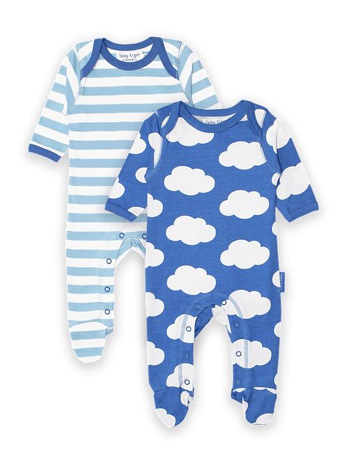 Cloud 2-Pack Babygrow - Toby Tiger