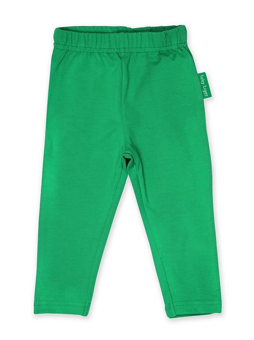 Green Basic Leggings - Toby Tiger