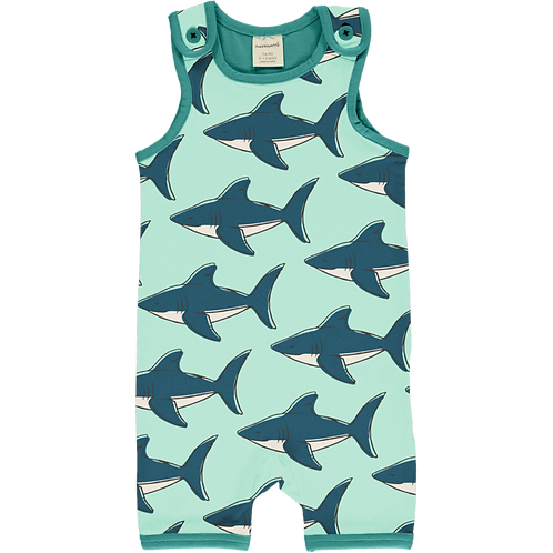 Playsuit Short - SHARK -Maxomorra