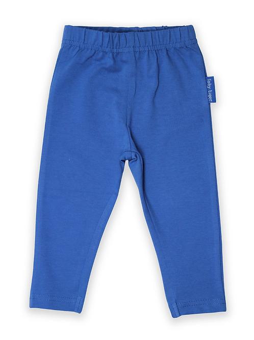Blue Basic Leggings - Toby Tiger