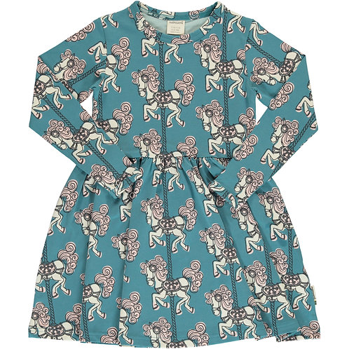 Dress Spin LS - MERRY-GO-ROUND - Maxomorra