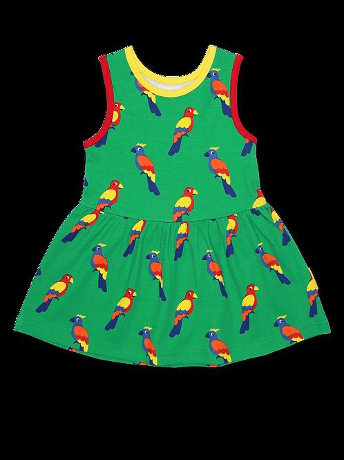 Parrot Print Summer Dress - Toby Tiger