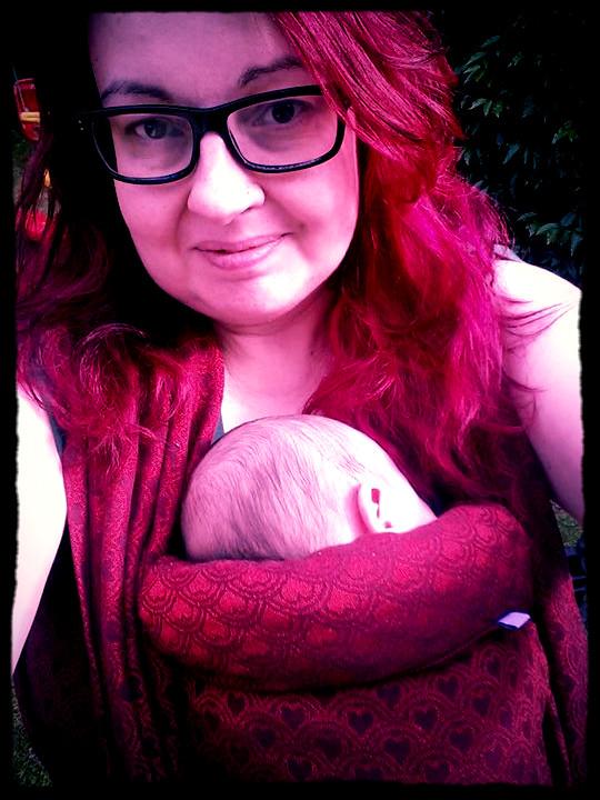 Why I wear my baby. (Article originally written for Godalming & Cranleigh NCT Newsletter)