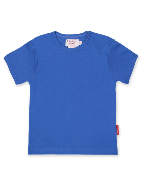 Blue Basic T-shirt - Toby Tiger