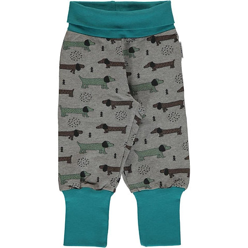 Rib Pants - DOTTED PUPPY