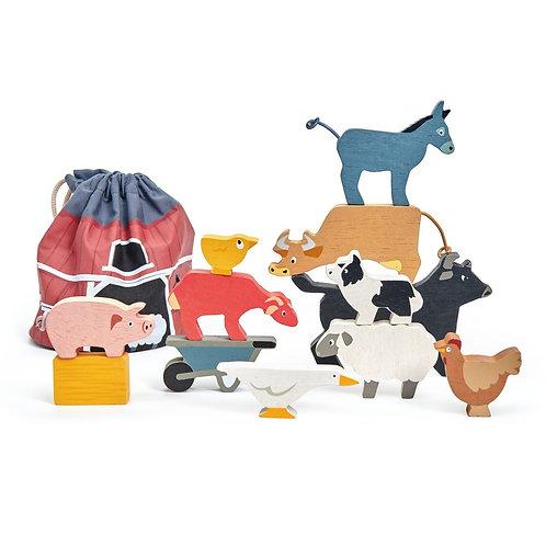 Stacking Farmyard - Tender Leaf Toys