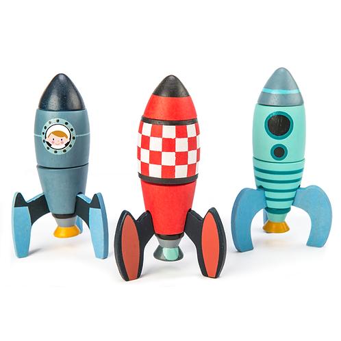 Rocket Construction - Tender Leaf Toys