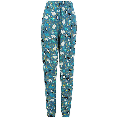 Women's  Loungewear Leggings - ARCTIC - Piccalilly