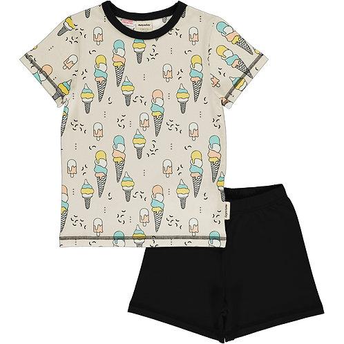 Pyjama Set SS - ICE CREAM CONFETTI - Meyadey