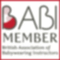 British Association of Babywearing Instructors Member