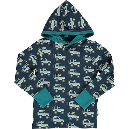 Top LS Hooded - JEEP ADVENTURE - Maxomorra