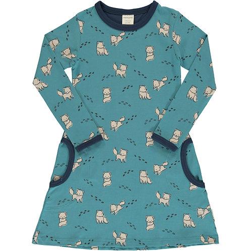 Dress LS - ARCTIC FOX - Maxomorra