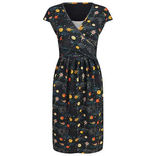 Women's Wrap Dress - SOLAR SPACE - Piccalilly