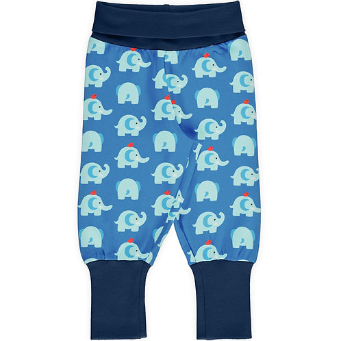 Rib Pants - ELEPHANT FRIENDS - Maxomorra