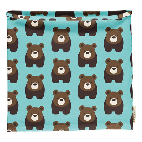 Scarf Velour - BEAR - Maxomorra