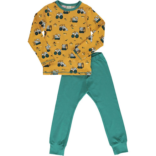Pyjama Set LS - BRICK BUILDERS - Maxomorra